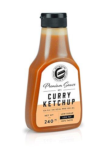 Got7 Premium Sauce No.1 Soße Grillsoße Perfekt Zur Diät Abnehmen Fitness Bodybuilding 240ml (Curry Ketchup)