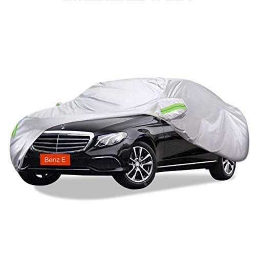 SXET-Cubierta de coche Cubierta del coche Cubierta contra el polvo Protección UV Oxford Tela Impermeable Resistente a los arañazos A prueba de viento Mercedes-Benz Serie E Cubierta especial para autom