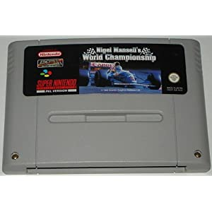 Nigel Mansell's World Championship (SNES) lose