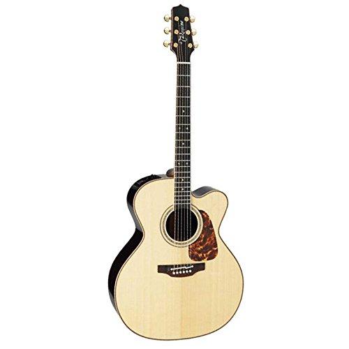 TAKAMINE Pro Serie 7Jumbo cuerpo acústica guitarra eléctrica con funda