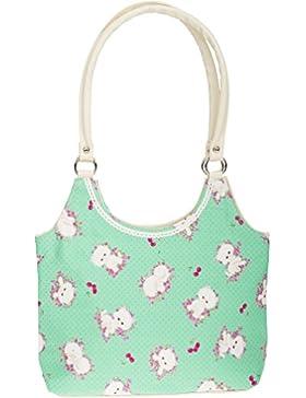 Küstenluder GILMA Cherry KITTEN Baby Pünktchen Nostalgic Tasche BAG Rockabilly