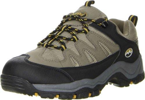 Conway Damen Herren Wanderschuhe Trekkingschuhe Oliv, Größe:42, Farbe:Oliv