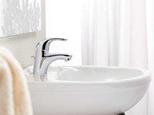 Hansgrohe – Waschtisch-Einhebelmischer mit Ablaufgarnitur, Chrom, Serie Focus E - 3