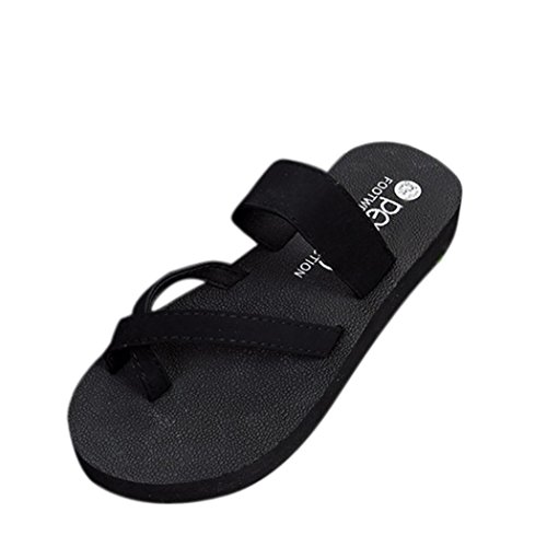 DIKEWANG Ladies Women Summer Fashion Flip Flops Casual Non Slip,Lightweight,Quick-Drying,Breathable Slippers Flat Sandals Beach Open Toe Shoes