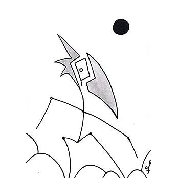 Olivier Cornil – Situation difficile – Tuschezeichnung – 15 x 20,5 cm