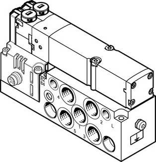 VMPA2-M1H-D-S-G1/8-PI (537980) Magnetventil Ventilfunktion:2x2/2 geschlossen monostabil