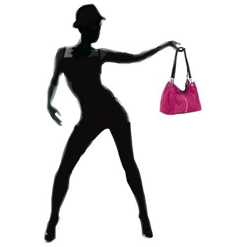 CASPAR Taschen & Accessoires, Borsa a spalla donna pink
