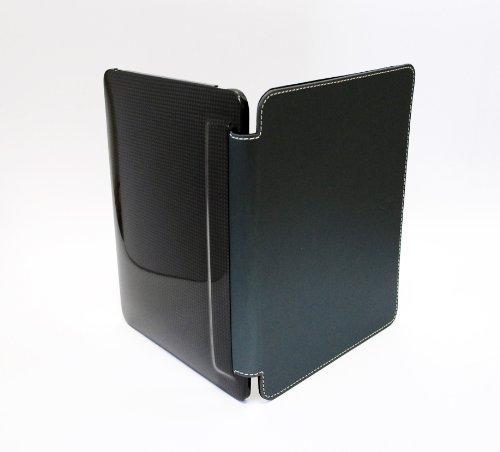 Für Computer-kästen Verkauf ([Japans erste Ankunft der begrenzte Verkauf] monCarbone iPad (erste Generation) Portfolio Carbone-Faser-Kasten Twilight Blue (Japan-Import))