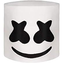 Marshmallow DJ máscara Casco del Festival música Máscara la Mascarada del Novedad Látex de Goma máscara