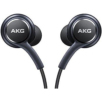 Ufficiale Samsung Galaxy S8/S8+ cuffie/auricolari vivavoce–Tuned by AKG/Harman Kardon–nero (eo-ig955bsegww)–Confezione bulk, antigroviglio