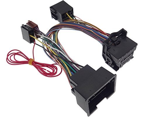 PARROT THB Adapter OPEL Astra Agila Insignia BLUETOOTH Kabel ISO Stecker FSE TEL Cts-monitor