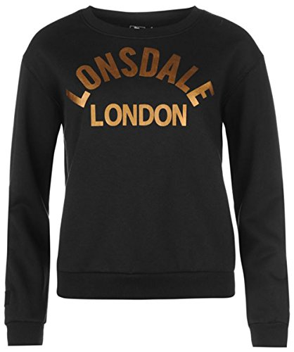 Lonsdale - Sweat-shirt - Femme Noir