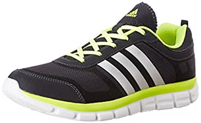 adidas arlin 4.0 Running Shoes, Men's Size 7 (Grey/Motsil Yello)