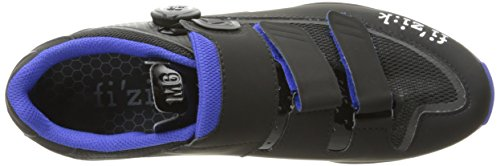Fizik M6B - Chaussures - gris/bleu 2017 chaussures vtt shimano anthrazite/blau