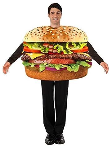 Forum Cheeseburger Food Costume Standard