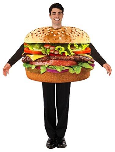 Hamburger Tunic Costume Adult Men Standard (Für Erwachsene Hamburger Kostüm)