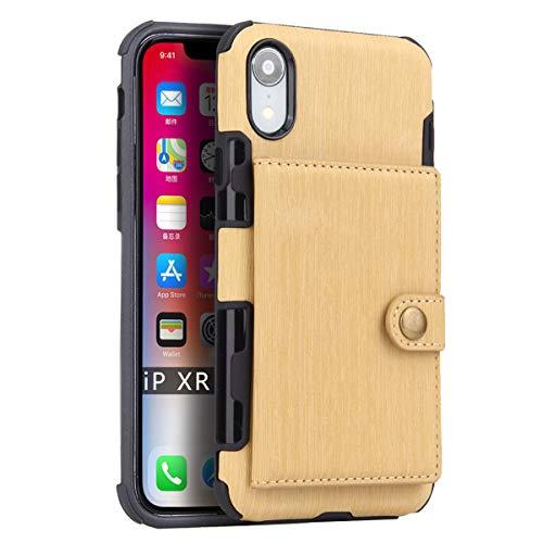 FLY HAWK iPhone 6/6s, iPhone 7/8, iPhone X/XR/XS Max, iPhone 6/7/8 Plus Hülle Handy Wallet mit Kartenfächer Lederhülle Wallet Case Schutzhülle Taschen [Premium PU] [Geldbörse]in vielen Farben -