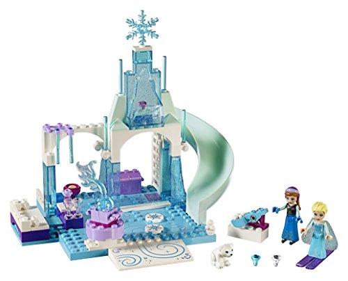LEGO Juniors Princesas Disney - Zona de juegos invernal de Anna y Elsa (10736)