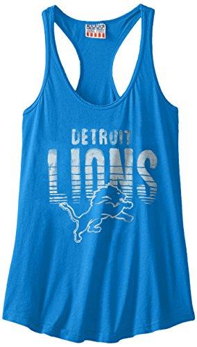 nfl-detroit-lions-womens-touchdown-tank-top-blue-x-small