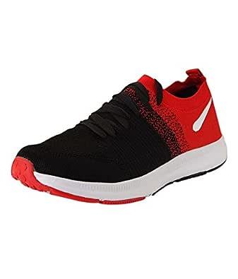 VIR SPORT Max Air Men's Black Running Shoes