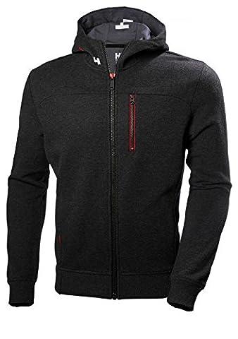 Helly Hansen Mens Crew Classic Full Zip Contrast Hoodie Jacket Top
