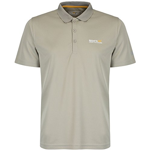 Regatta Maverik III Herren Polo Shirt Pergament
