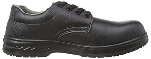 Portwest  Steelite Laced Safety Shoe S2 - Chaussures de sécurité - Homme Noir