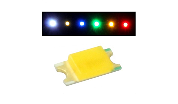 50x Superhelle Leds Smd 0603 Rot 20ma 2v 130 160mcd 120 1 6x0 8mm Beleuchtung