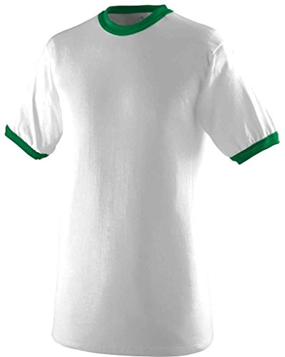 Augusta Herren T-Shirt White/Kelly