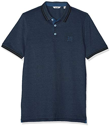 Only & Sons NOS Herren onsSTAN SS Fitted Polo Tee (6560) NOOS Poloshirt, Mehrfarbig (Ensign Blue Stripes: Black), X-Large (Herstellergröße: XL) - Polo-tee