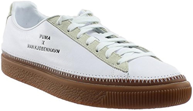 PUMA Unisex Puma x Han Kjobenhavn Basket Stitched Sneaker Puma White 13 D US