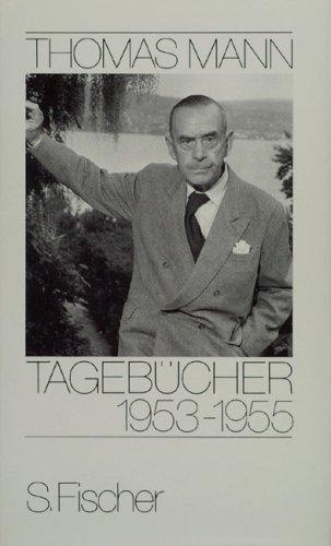 Buchseite und Rezensionen zu 'Tagebücher 1953-1955' von Thomas Mann
