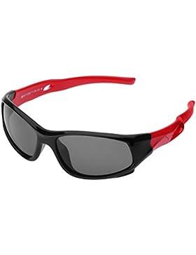 Forepin reg; Gafas de Sol Niño y Niña (3-12años) Deporte Polarizadas Marco Flexible Infantiles Ovaladas 100% Protección...