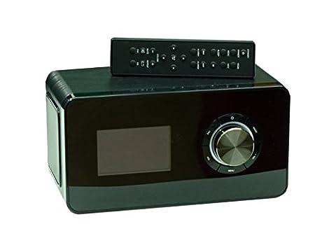 TERRIS IWR251 WLAN Internet Radio UKW PLL RDS DAB + Weltempfänger Stereo Schwarz