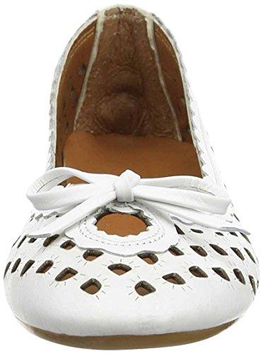 Andrea Conti 0499206, Ballerines fermées femme Blanc - Weiß (weiß 001)
