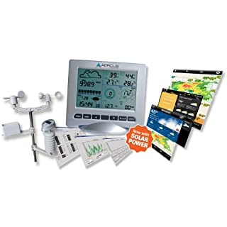 Weather Station Wireless WS3083 with Internet Upload plus UV Index and Light Meter + Free Beginner's Guide