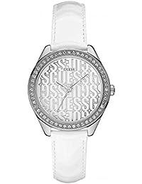 Guess Damen-Armbanduhr Analog Quarz Leder W0560L1