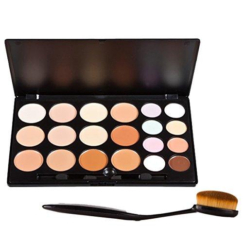 Vococal® Maquillage Face à Palette Correcteur Cosmetic et 1 Pcs Foundation Brush Maquillage Kit Set
