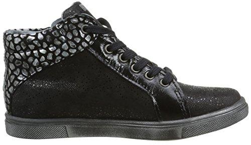 Babybotte Kiti, Chaussures Lacées Fille Noir (383 Noir)