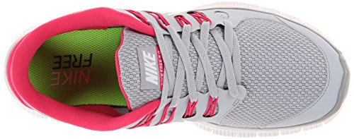 Nike Free 5.0+ Women's 061 (F1) WOLF GREY/WHITE//PINK FORCE