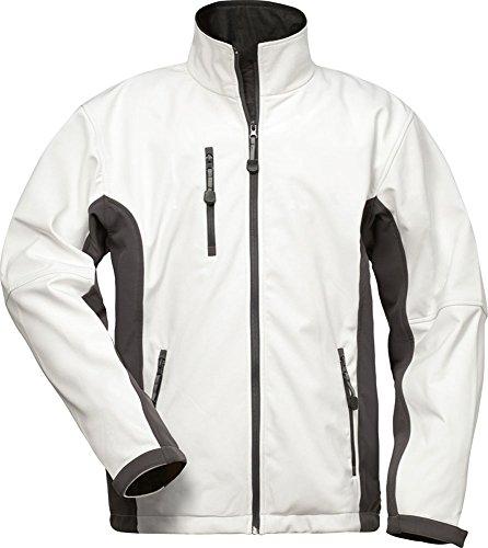 CRAFTLAND Softshell-Jacke - 19990 - weiß/grau - Größe: XXL - Wasserdichte Herren Weiße Jacke