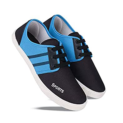 Earton Training Shoes,Walking Shoes,Gym Shoes,Hiking Shoes,Casual Shoes,Light Weight Comfortable Shoes for Men's/Boy's Black