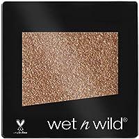 Wet n Wild Color Icon Glitter (Nudecomer) – Sombra de ojos Individual, Brillante, Larga Duración, Textura Suave - 1.5gr