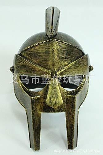 WSJDE Partei liefert alte Rom Samurai Helm Pography Prop Rom Krieg Gott Helm Krieger Helm - Gott Des Krieges Kostüm