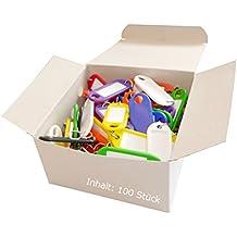 Wedo 262 803499 - Llaveros con etiqueta (100 unidades)