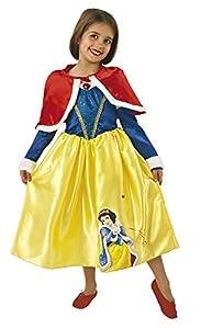 Princesas Disney - Disfraz de Blancanieves de Invierno para niña, infantil 7-8 años (Rubie