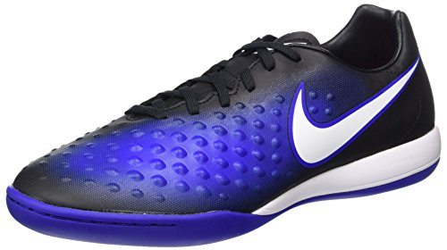Nike Magista X Onda Ii Ic, Chaussures de Football Homme Bleu (Black/white-prmnt Bl-bl Tnt)