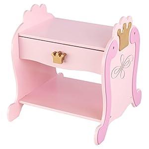 KidKraft 76124 Princess Nachttisch, weiß