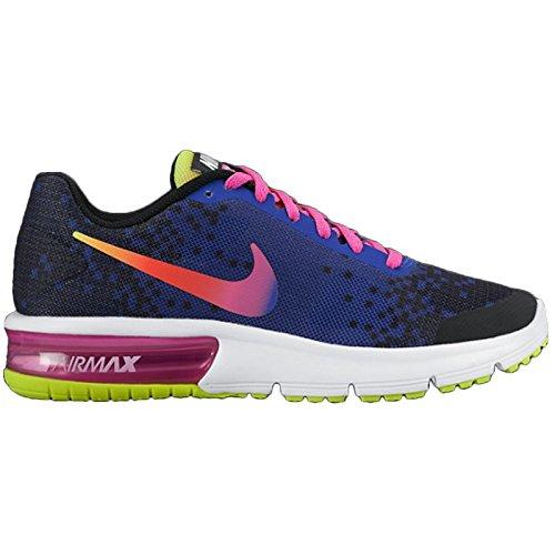 Nike Air Max Sequent Print (Gs), Chaussures de Sport Fille