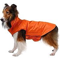 Bambine e ragazze Impermeabile per Animali Vestiti Impermeabile Canotta per Cani Confortevole Giacca per Cani Inverno Autunno Caldo Cane Gilet per Animali Domestici Cappotto per Cani Piccoli di Taglia Media Augneveres